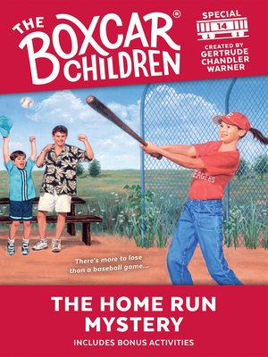 cover image of The Home Run Mystery