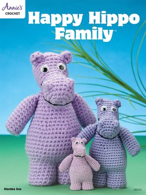 cover image of Happy Hippo Family