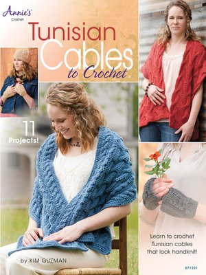 cover image of Tunisian Cables to Crochet