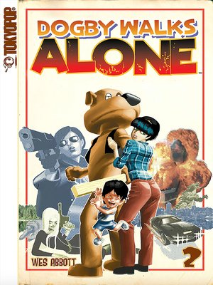 cover image of Dogby Walks Alone manga volume 2
