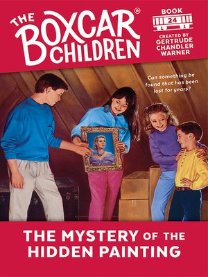 cover image of The Mystery of the Hidden Painting