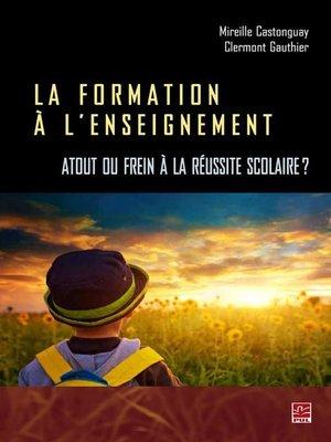 cover image of Formation à l'enseignement La