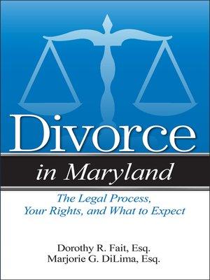 cover image of Divorce in Maryland