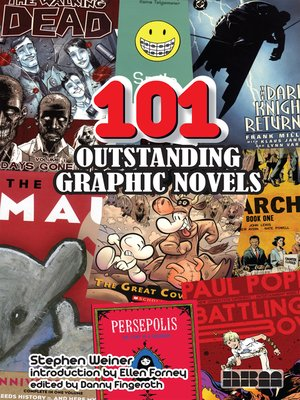 cover image of 101 Outstanding Graphic Novels