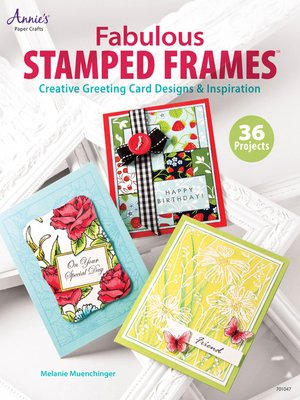 cover image of Fabulous Stamped Frames
