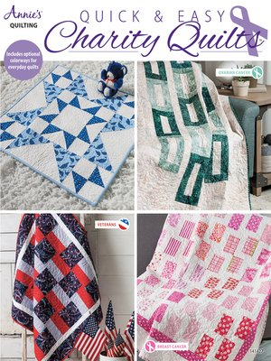 cover image of Quick & Easy Charity Quilts