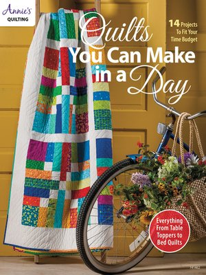 cover image of Quilts You Can Make In a Day