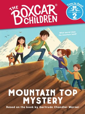 cover image of Mountain Top Mystery (The Boxcar Children