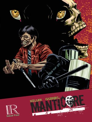 cover image of Manticore, Issue 4