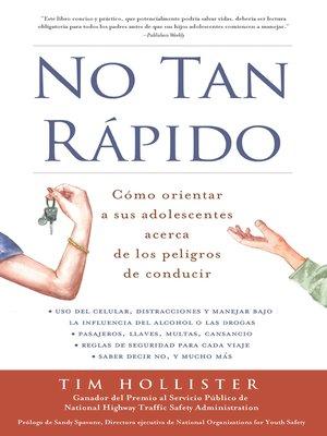 cover image of No tan rápido