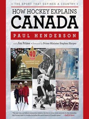 cover image of How Hockey Explains Canada