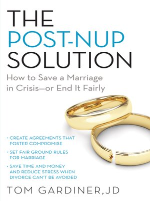 cover image of The Post-Nup Solution