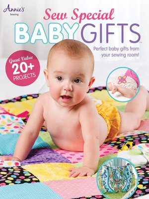 cover image of Sew Special Baby Gifts