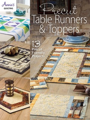 cover image of Precut Table Runners & Toppers
