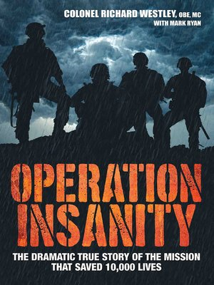 cover image of Operation Insanity