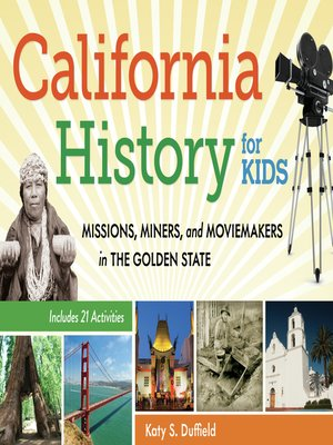 cover image of California History for Kids