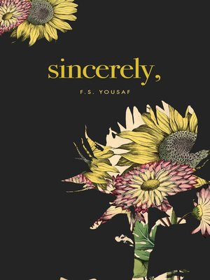 cover image of Sincerely
