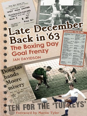 cover image of Late December Back in '63
