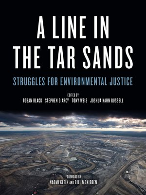 cover image of A Line in the Tar Sands