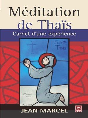 cover image of Méditation de Thaïs