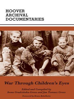 cover image of War Through Children's Eyes