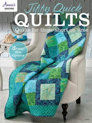 cover image of Jiffy Quick Quilts