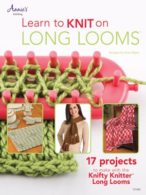 cover image of Learn to Knit on Long Looms