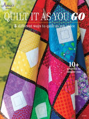 cover image of Quilt It as You Go