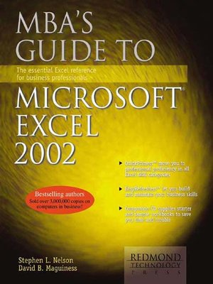cover image of MBA's Guide to Microsoft Excel 2002
