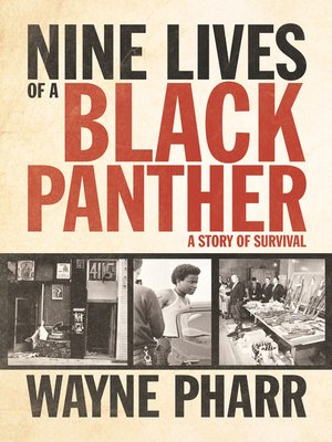cover image of Nine Lives of a Black Panther