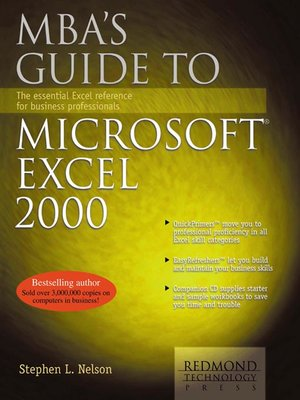 cover image of MBA's Guide to Microsoft Excel 2000