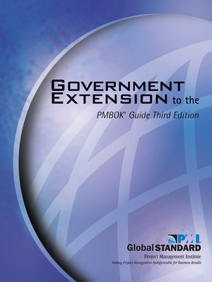 cover image of Government Extension to the PMBOK® Guide