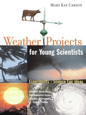 cover image of Weather Projects for Young Scientists