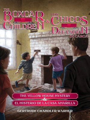 cover image of The Yellow House Mystery (Spanish/English set)