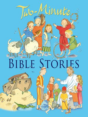 cover image of Two-Minute Bible Stories