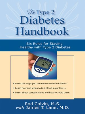 cover image of The Type 2 Diabetes Handbook