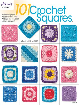 cover image of 101 Crochet Squares