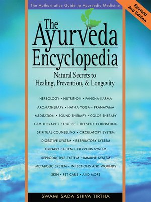 cover image of The Ayurveda Encyclopedia
