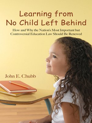cover image of Learning from No Child Left Behind