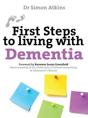 cover image of First Steps to Living with Dementia