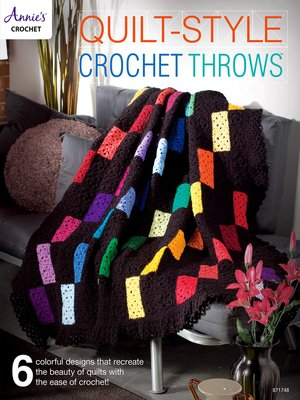 cover image of Quilt-Style Crochet Throws