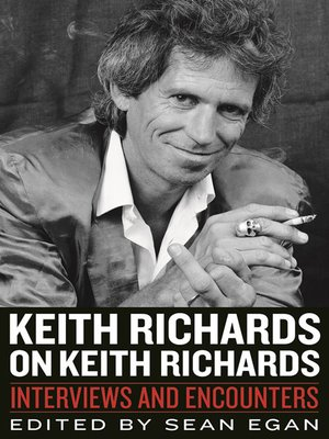 cover image of Keith Richards on Keith Richards