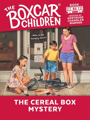 cover image of The Cereal Box Mystery