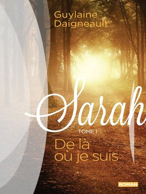 cover image of Sarah 01
