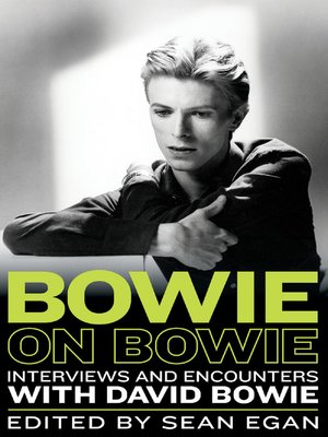 cover image of Bowie on Bowie
