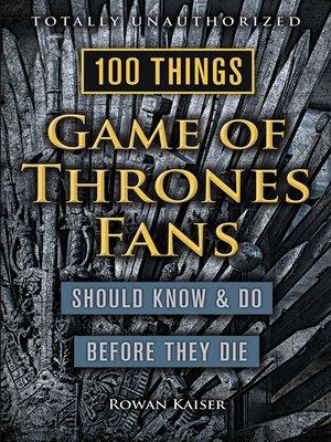 game of thrones ebook download epub