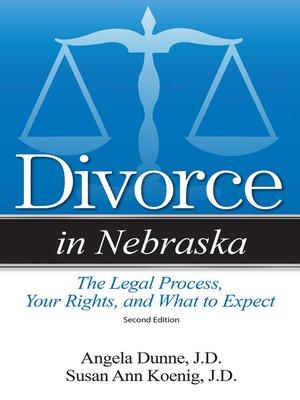 cover image of Divorce in Nebraska