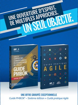 cover image of A Guide to the Project Management Body of Knowledge (PMBOK(R) Guide- / Agile Practice Guide Bundle (FRENCH)