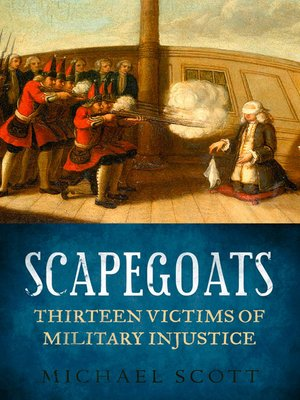 cover image of Scapegoats