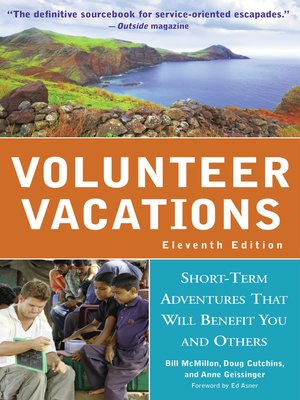 cover image of Volunteer Vacations